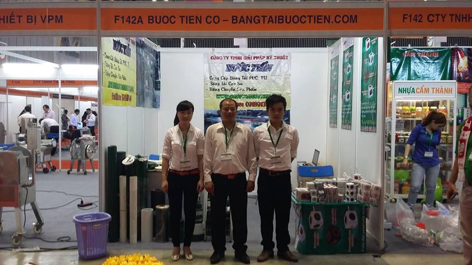 Công ty Bước Tiến tham gia Vietnam Foodexpo 2016